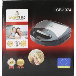 Sandwich Maker CB 1074 4in1 Crownberg