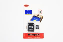 Micro SD Card WX 16 GB Wimpex