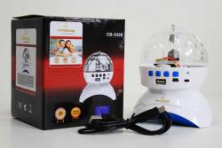 Disco Light CB 0308 Rechargeable BT+MP3 Crownberg