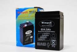 Battery 6V 4.5Ah Wimpex