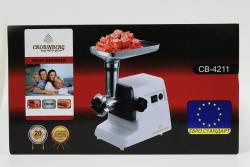 Электромясорубка CB-4211 Crownberg