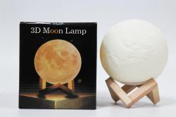 Disco Lamp 3D Moon TV-Shop