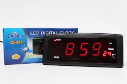 Настольные часы VST-818-1 Red