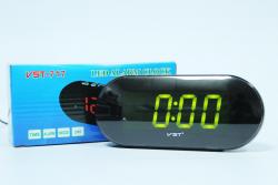 Настольные часы зеленый VST-717-2 Зеленый