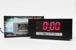 Настольные часы VST-740-1 Красный