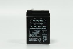 Аккумулятор WX-650 6v5ah Wimpex