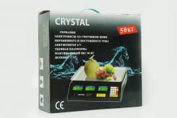 Весы CR-50kg Crystal