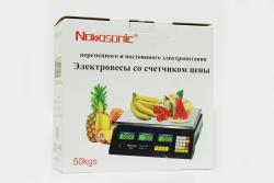 Весы NK-40kg 4V Nokasonic